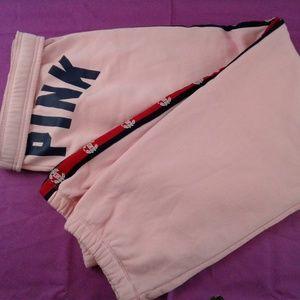 PINK Victoria's Secret Campus Pant L